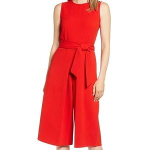 NWT Red Jumpsuit
